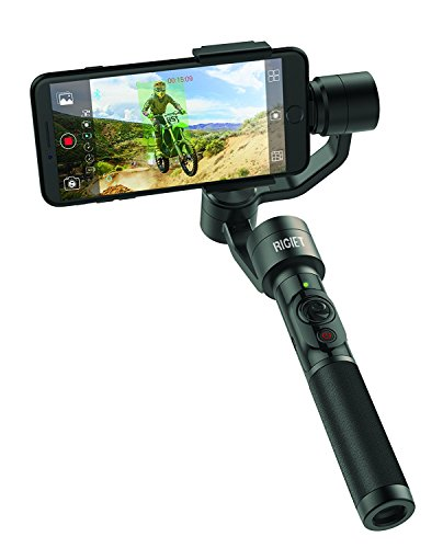 DOBOT Rigiet, 3-Axis Handheld Gimbal for iPhone X, Samsung and GoPro, with Auto-tracking, Live Streaming, Slow Motion, Timelapse, Panorama - V1.1 Version by Dobot