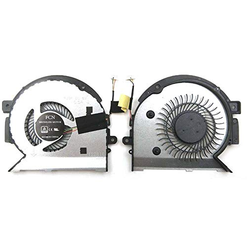 Artidux Replacement CPU Cooling Fan for HP Envy X360 15-BP 15-BPXXX 15-BP104TX 15-BQ 15M-BP 15M-BP012DX 15M-BQ 15M-BQ021DX Series Compatible P/N: 924348-001 924349-001 DFS561405PL0T 023.1008U.0011
