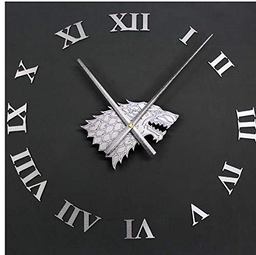 iaoxiaofeifei El Reloj de Pared DIY está viniendo El Reloj de ...