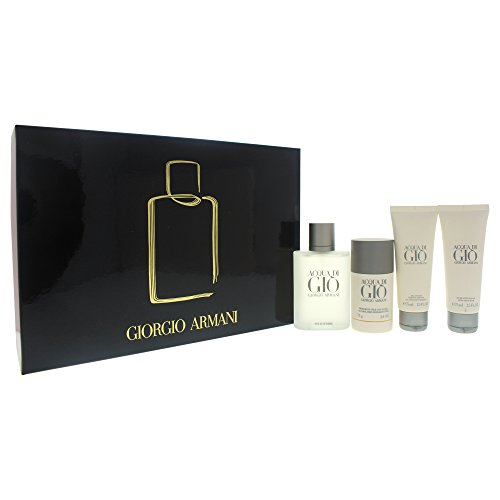 Di Gio for Men, 4 Piece Gift Set (Acqua Di Gio Deodorant Spray)