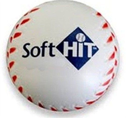 Baseball Practice Balls Softhit 1 Dozen Lite Ball Training Insider Bat Impact (Bat Brooklyn Dodgers)