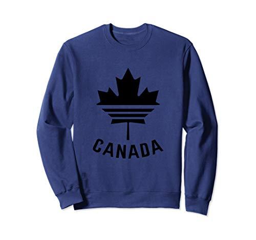 - Vintage Canada Flag, Canadian Flag Maple Leaf Sweatshirt