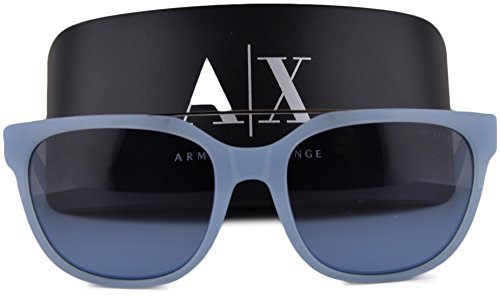 Armani Exchange AX4043S Sunglasses Powder Blue w/Milky Blue Gradient Lens 8161/8F AX - Sunglass France Hut