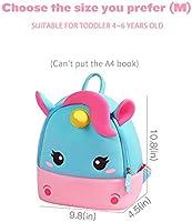afecf23e277e Unicorn backpack Preschool Cute zoo toddler backpack for kids for 3-5 years