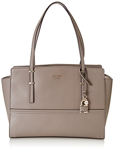 Guess Shoulder Size One Taupe Brown Handbag Taupe Hwvg6421100 Women's Grey rxfgHr