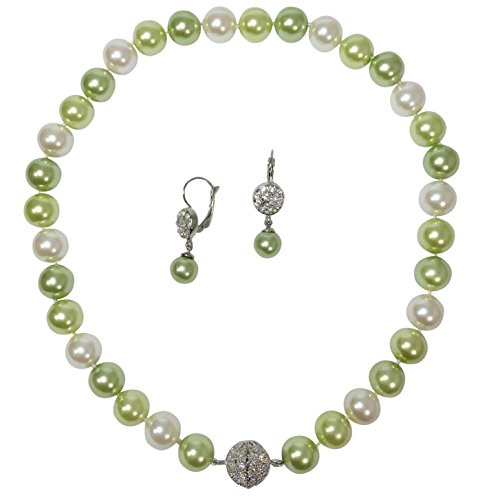 Beaded Glass Jewelry Set - 7