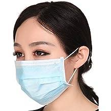 Marygel 50 Pieces Disposable Procedure Surgical Face Mask(Blue)