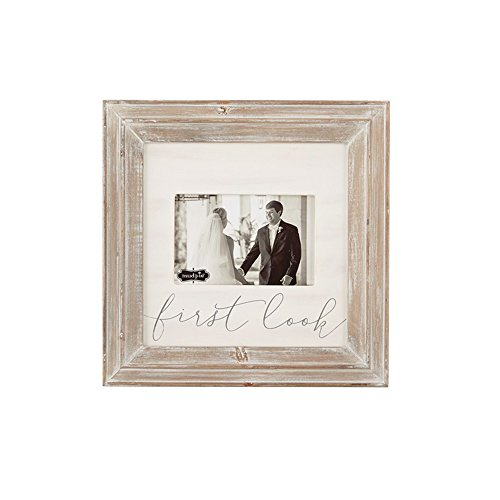 Mud Pie First Look Wood Picture Frame (Picture Mud Wood Frame Pie)
