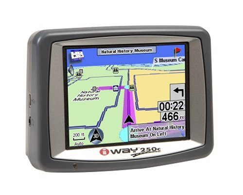 Lowrance 000-0125-03 iWay 250C 3.5-Inch Portable GPS Navigator (Portable Lowrance Pack)