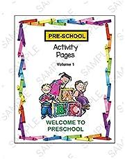 Parents Teachers Resellers Preschool Activity Workbook Volume 1 Math Reading Counting Alphabet