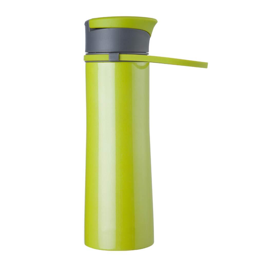 Sportflasche Isolier Becher Thermo Becher Travel Mug Kaffeebecher Wasserflasche Trinkbehälter Trinkflaschen-Tragbarer Thermostat Für Den Innenbereich Im Freien JINRONG