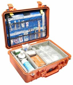 Pelican 1500EMS | EMS Protector Case for First Aid Medical Equipment Orange