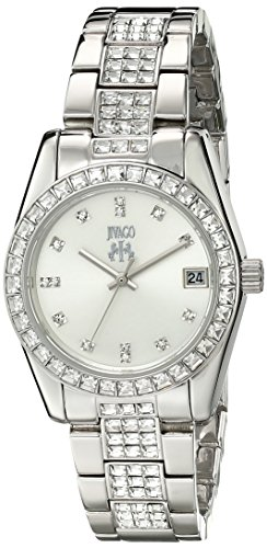 Jivago Women's JV6410 Magnifique Analog Display Quartz Silver Watch