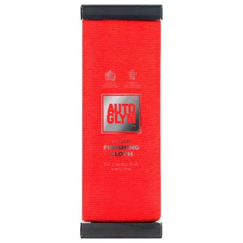 Red Autoglym Hi-tech Finishing Cloth by Autoglym