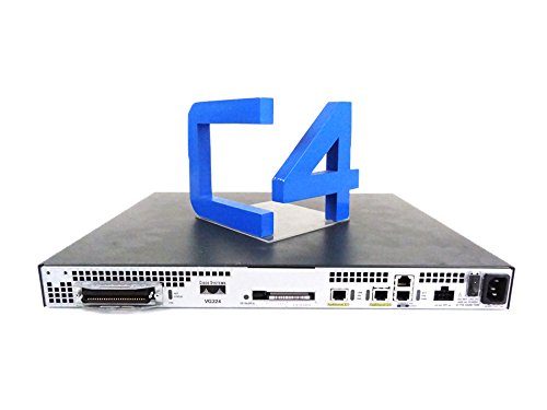 Cisco VG224 Analog Phone Gateway - VoIP phone adapter - By (Cisco Vg224 Gateway)