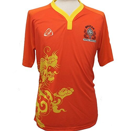 Ego Bhután Official Deporte casa Camiseta de fútbol 2015/16
