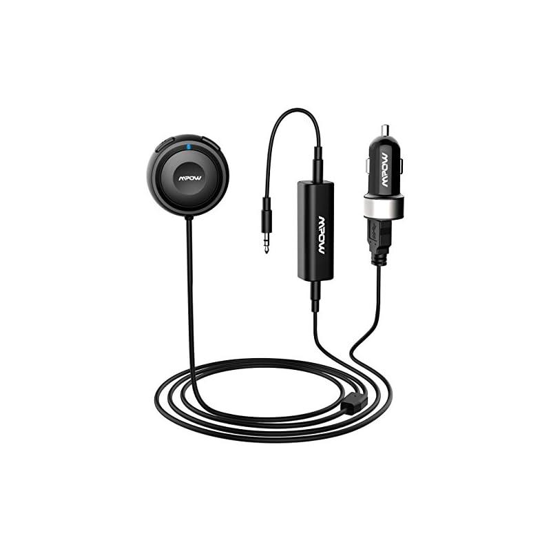 Mpow Bluetooth Receiver for Car, Hands-F
