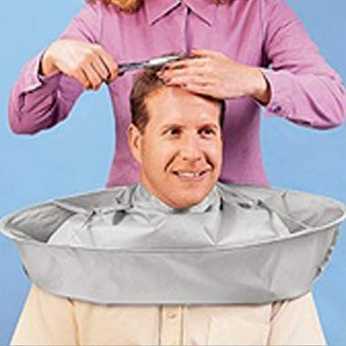 Susens Salon Barber Gown Cloth Hair Cutting Cloak Umbrella Hairdressing Cape Dye Dying Bun & Crown Shapers from Susens