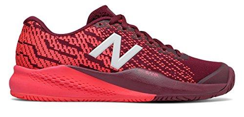 刺繍推進楽しませる(ニューバランス) New Balance 靴?シューズ レディーステニス 996v3 Oxblood with Vivid Coral オックスブラッド ヴィヴィッド コーラル US 11 (28cm)