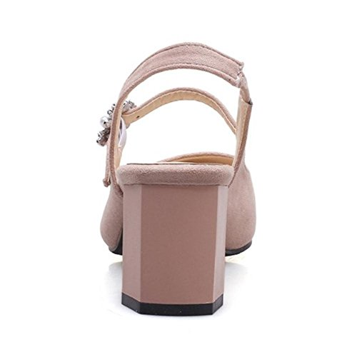 Coolcept Mujer Chunky Tacon Sandalias Pink