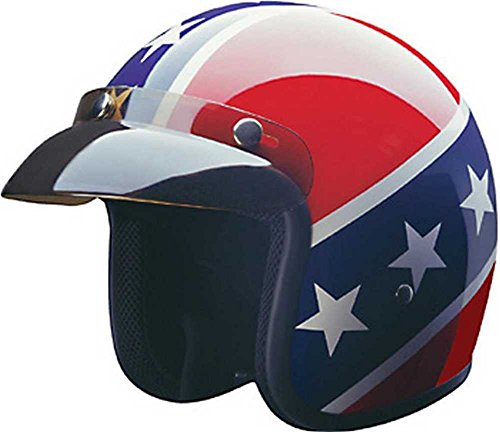 HCI Rebel DOT Motorcycle Helmet. 10-015