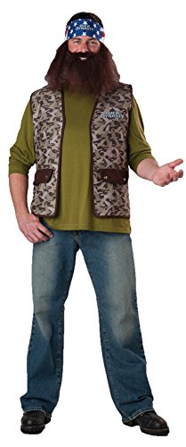 GTH Men's Tv Characters Duck Dynasty Willie Party Fancy Costume, One Size