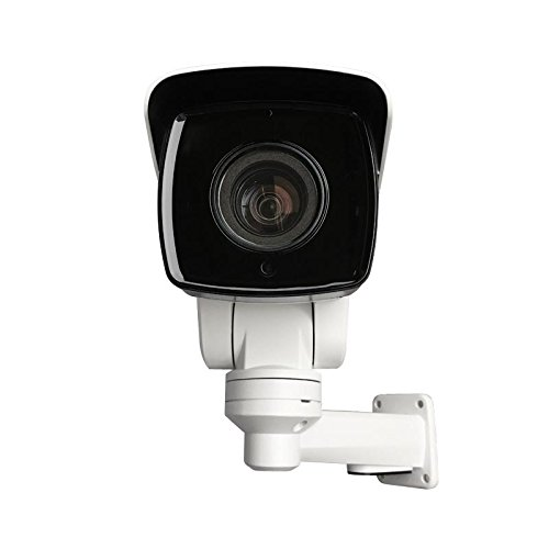 shenter New 4MP 10x Optical Zoom Mini PTZ Outdoor IP Camera POE IR H.265 IP66 Audio Alarm I O Port HD TF Card Slot Contains Bracket