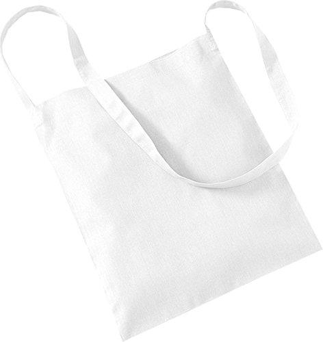 New de molinillo de Promo Westford bolsa de pesado de rip-tira de algodón bolsa aislante para cierre bolso bandolera blanco