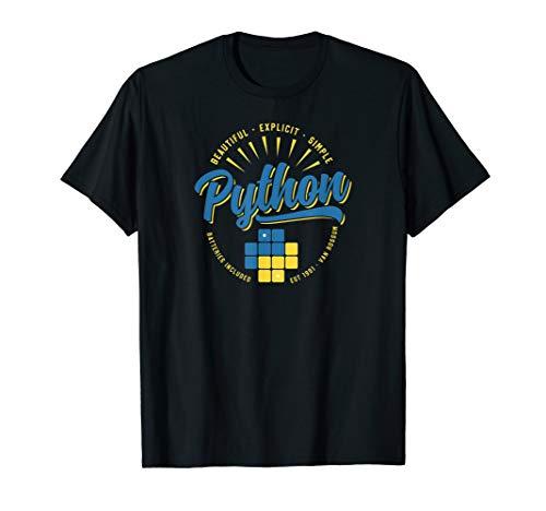 Vintage Python Programming Language T-Shirt