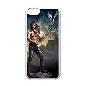 Vikings SANDY0008585 Phone Back Case Customized Art Print Design Hard Shell Protection Iphone 5C