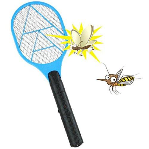 Sujing Fly Swatter Racket Bug Zapper Handheld Zapping Racket Mosquito Repellent Electric Swatter -