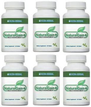 Natural Gain Plus Six Bottles Amazon Co Uk Health Personal Care