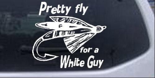 超熱 プリティフライ狩猟と釣り車ウィンドウ壁ノートパソコンデカールステッカー – – B00CBIGCFG -ホワイトで5 x 5.3 in in B00CBIGCFG, カラテックe-shop:cfe83314 --- a0267596.xsph.ru