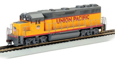 Bachmann Industries EMD GP40 Locomotive with Operating Directional Headlights - Union Pacific N Scale by Bachmann Industries