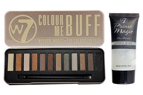 W7- Colour Me Buff 12 in 1 Powdered Eye Shadow Palette with
