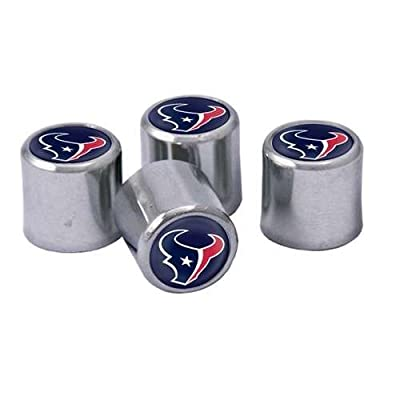 Houston Texans NFL Tire Valve Stem Caps 4-Pack: Sports & Outdoors