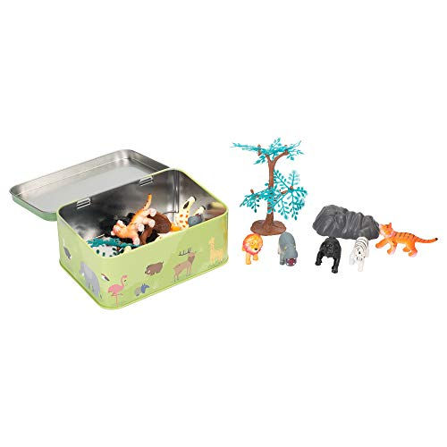 Master Toys Safari Play Set in Tin Box
