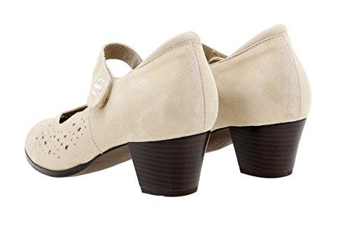 Piesanto Beig 180463 jane Mary Cosmo Femme Confort Chaussure r8PrEq