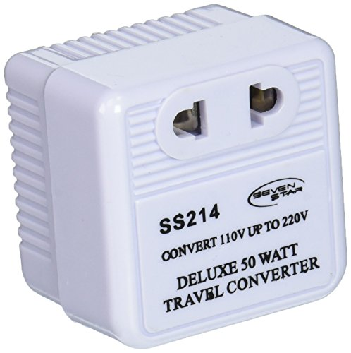 Up Reverse Compact International Travel Voltage Converter (110 220 Converter)