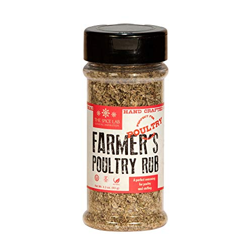 (The Spice Lab No. 29 - Farmer's Poultry Rub Seasoning Blend - 3.3oz. Shaker Jar)
