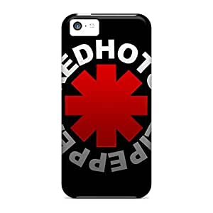 New Premium Flip Case Cover Red Hot Chili Skin Case For Iphone 4/4s