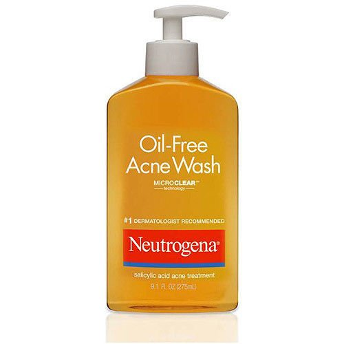 Neutrogena Acne Treatment Oil-Free Acne Wash, 9.1 fl oz, 10 count