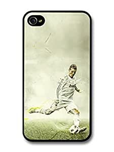 AMAF ? Accessories Cristiano Ronaldo Shooting Real Madrid CF Football case for iPhone 4 4S