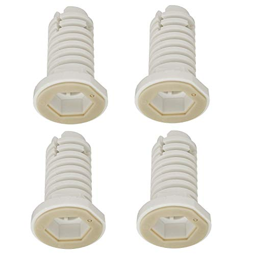 Washer Leveling Leg for GE Hotpoint - Replaces 279126 AP2045279 WH02X1187 WH2X1187 (4 Pack)