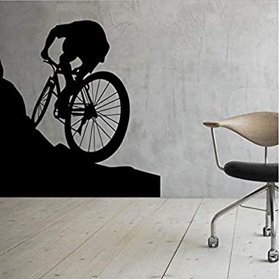 Pegatinas de pared Bicicleta de montaña Arte Vinilo para el hogar ...