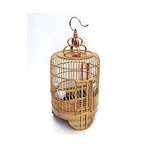 Jaulas para pájaros Aftas Jaula de pájaro de Doble Puerta de ...