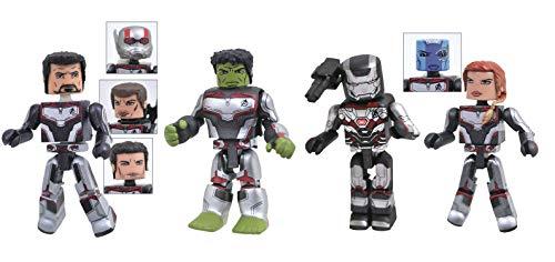 (DIAMOND SELECT TOYS Marvel Avengers Endgame Minimates Box Set, Multicolor)
