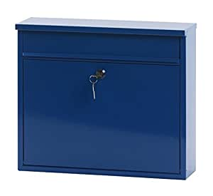 V-Part VB 440160 Wall-Mounted Post Box Height 31.5 cm Blue