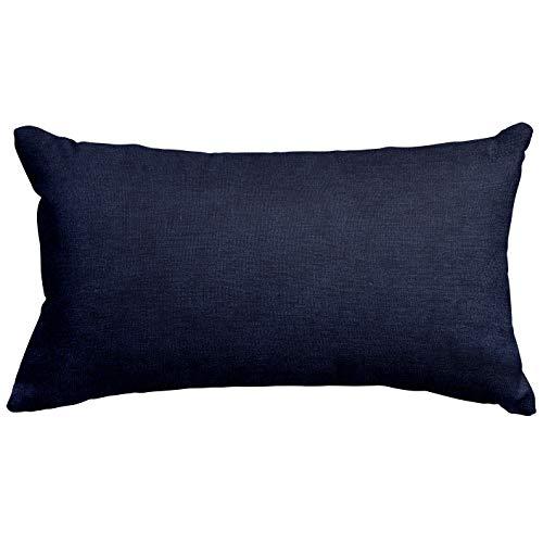 Majestic Home Goods Navy Villa Indoor Small Throw Pillow 20
