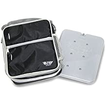 Fridge-to-go Cooler Lunch Bag - Insulated Bag Comes WITH A COOLING PANEL, mesh side pocket and keeps COOL UP TO 8 Hrs